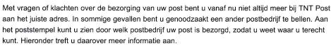 Mailing TNT Post