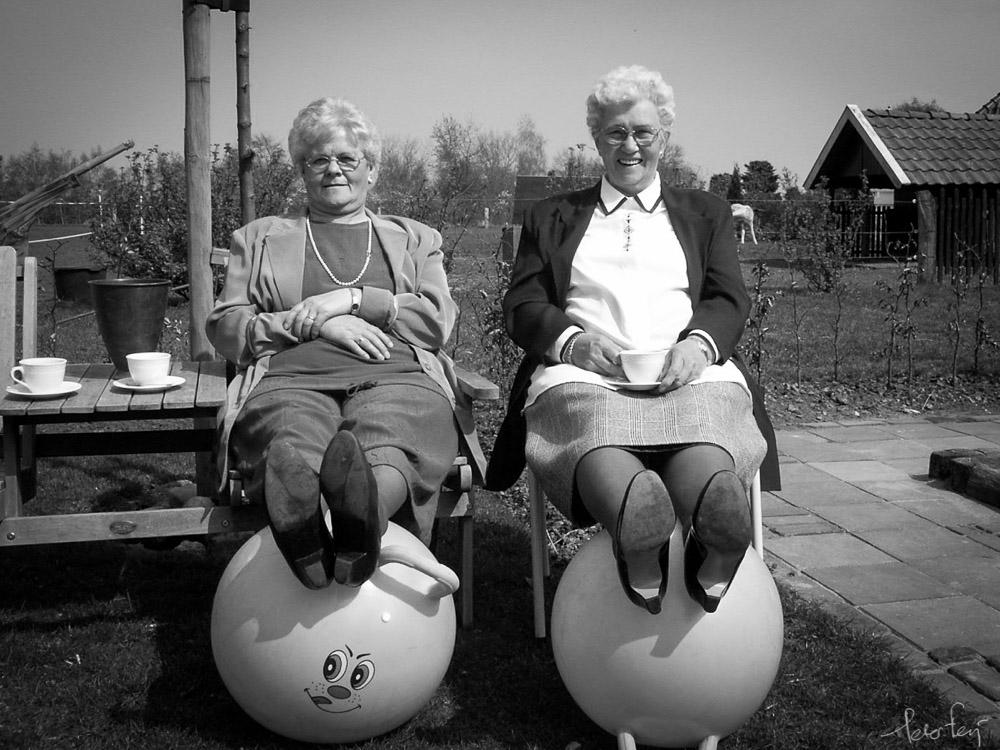Oma's in betere tijden