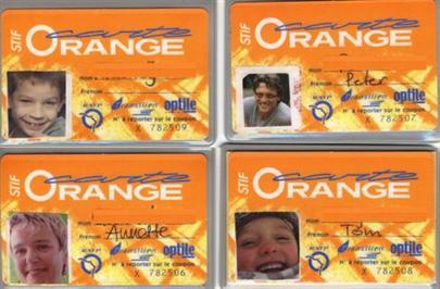 nos cartes oranges